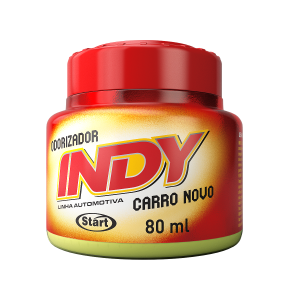 ODORIZADOR INDY CARRO NOVO - 80ml